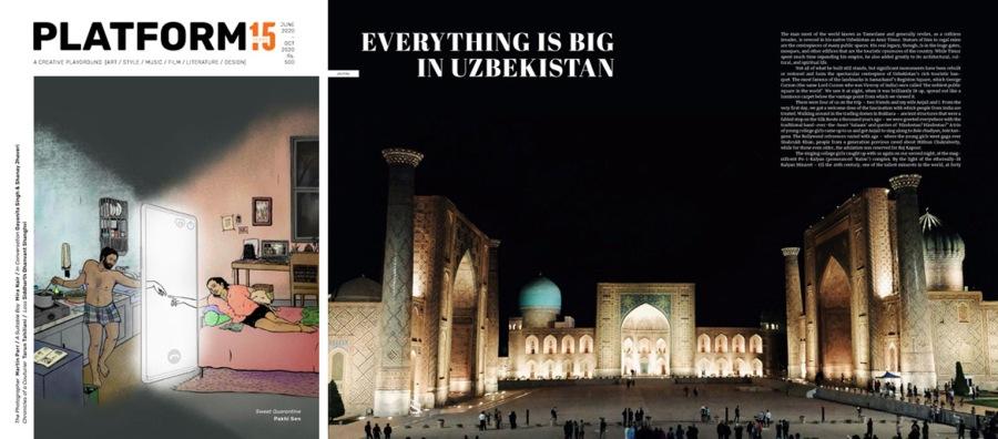 Everything is Big inUzbekistan
